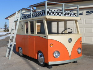 The Micro Bus Bunk Bed And Playhouse 1 Wohnmobil Kult