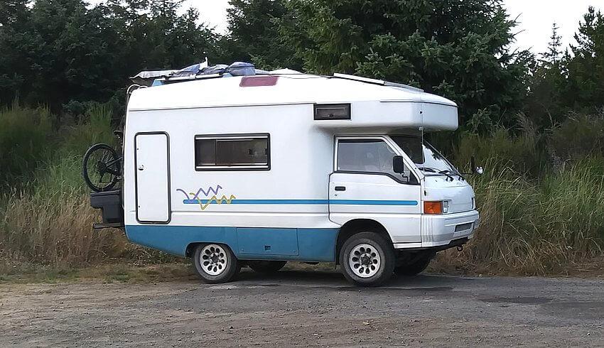 1996 mitsubishi delica 4 4 camper wohnmobil kult. Black Bedroom Furniture Sets. Home Design Ideas