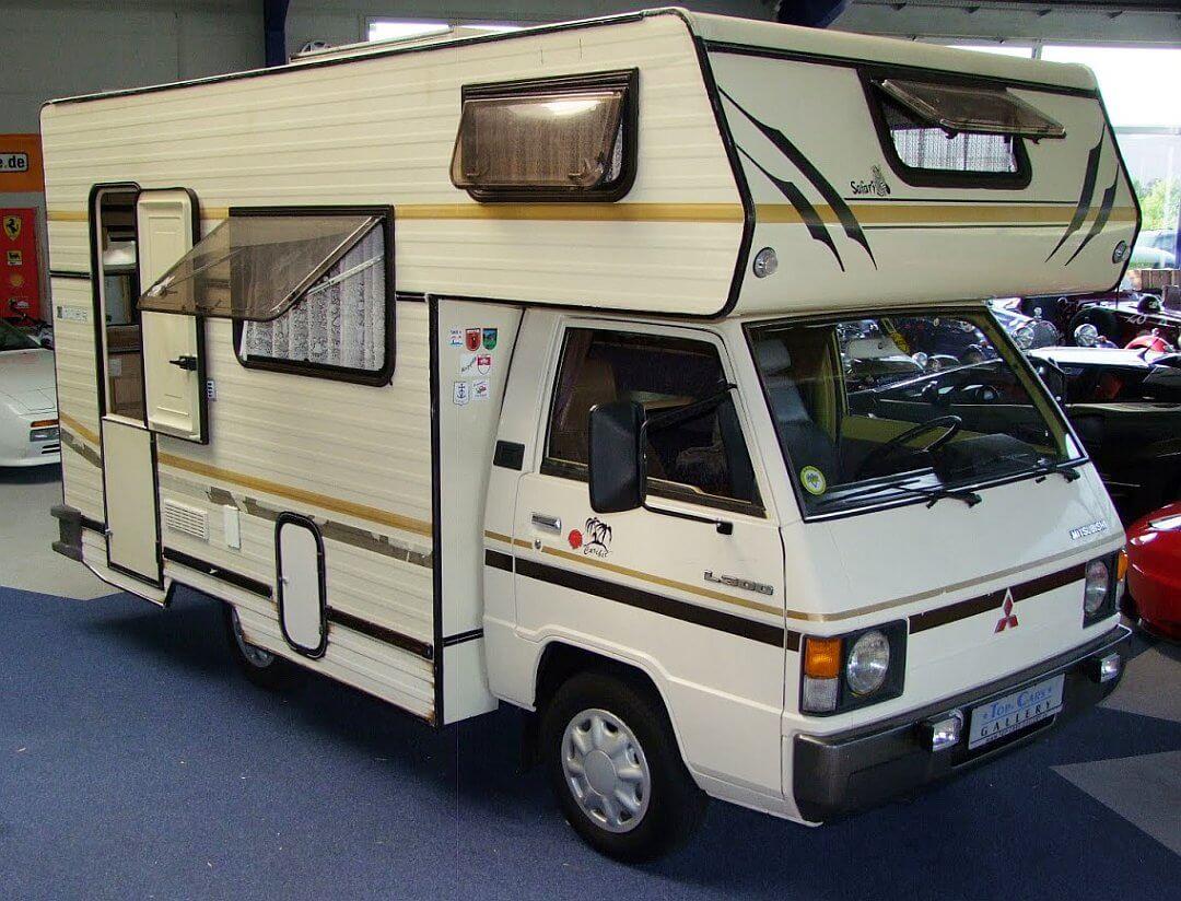 8 Mitsubishi L8 Wohnmobil / Wohnmobil Kult