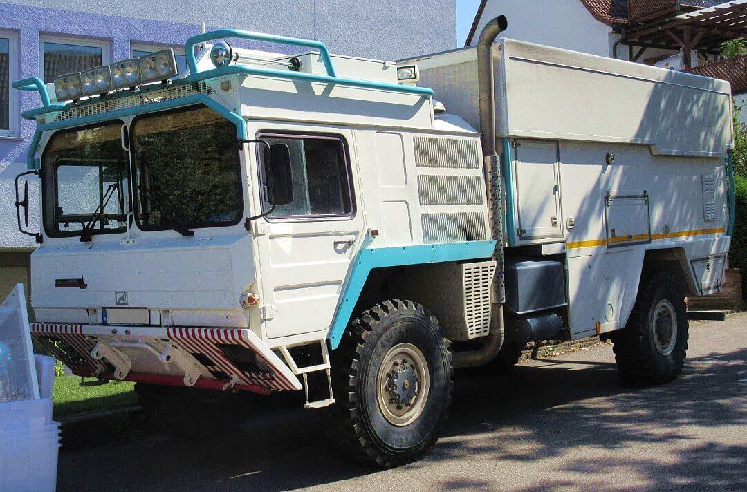 1986 Action Mobil MAN Kat1 A1