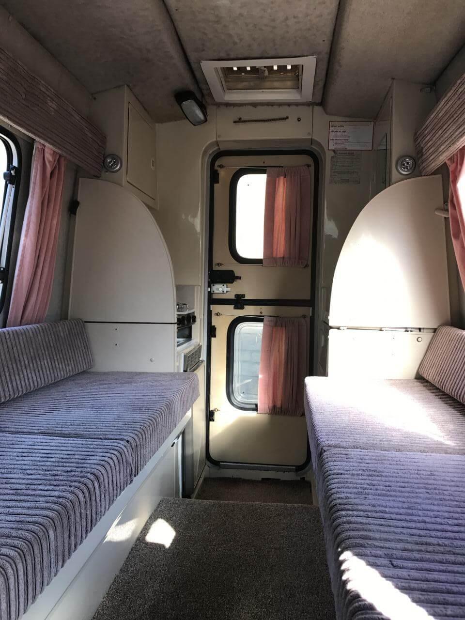 1991 Romahome Citroen C15 Camper