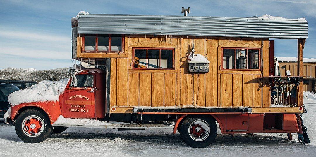 1953 GMC Fire Truck Tiny House