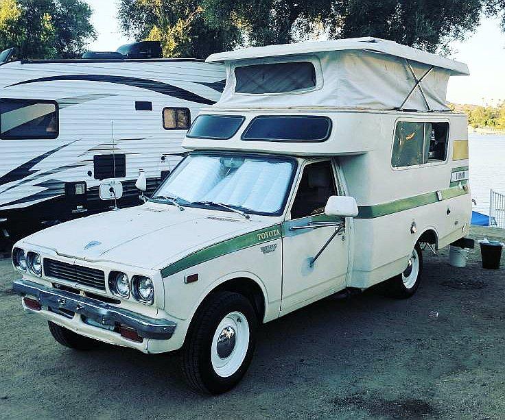 1974 Toyota Chinook Camper