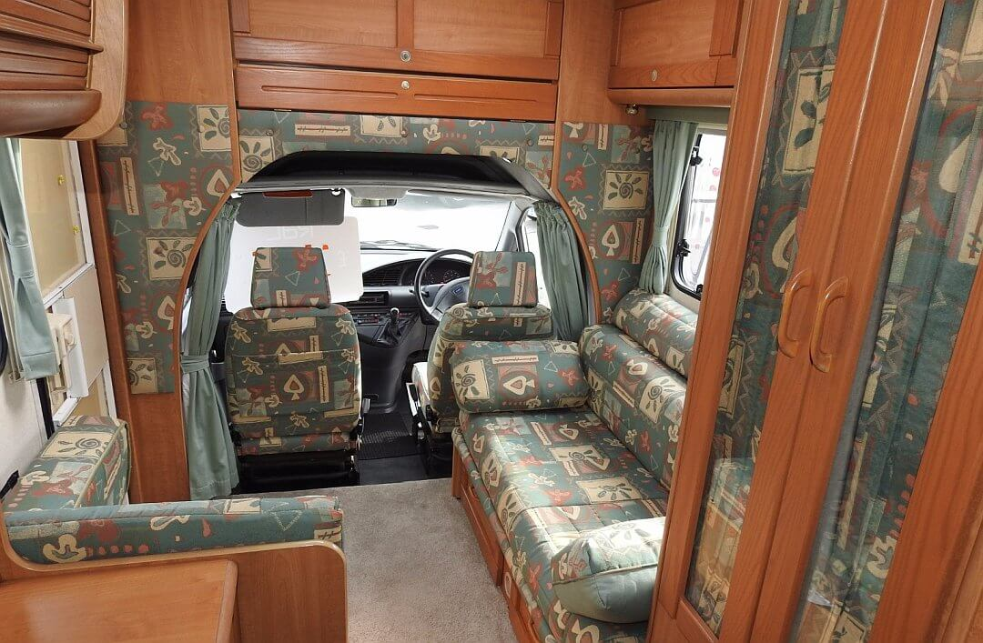 Go To Homepage >> 1999 Fiat Scudo Camper / Wohnmobil Kult