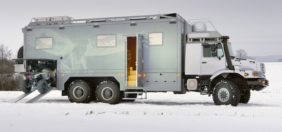 2011 Hünerkopf Mercedes Benz Zetros 6x6 Expeditionsmobil