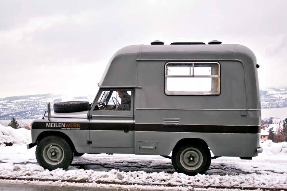 1969 Land Rover 109 Serie IIA Wohnmobil
