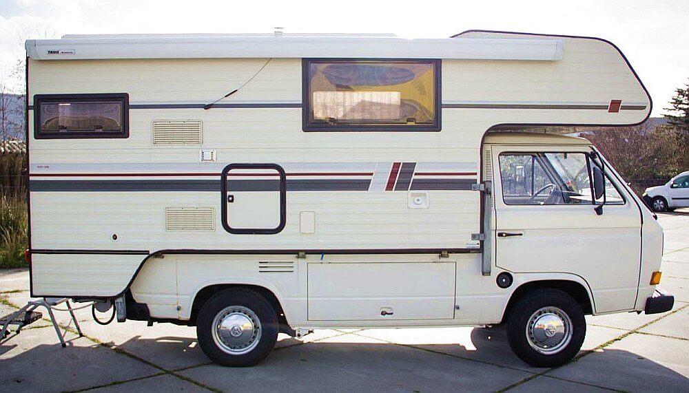 1985 Tischer 245 VW T3 Doka