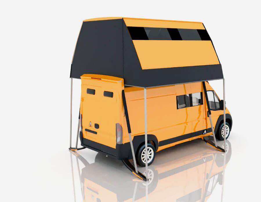 2017 A1 Attack Homester Concept