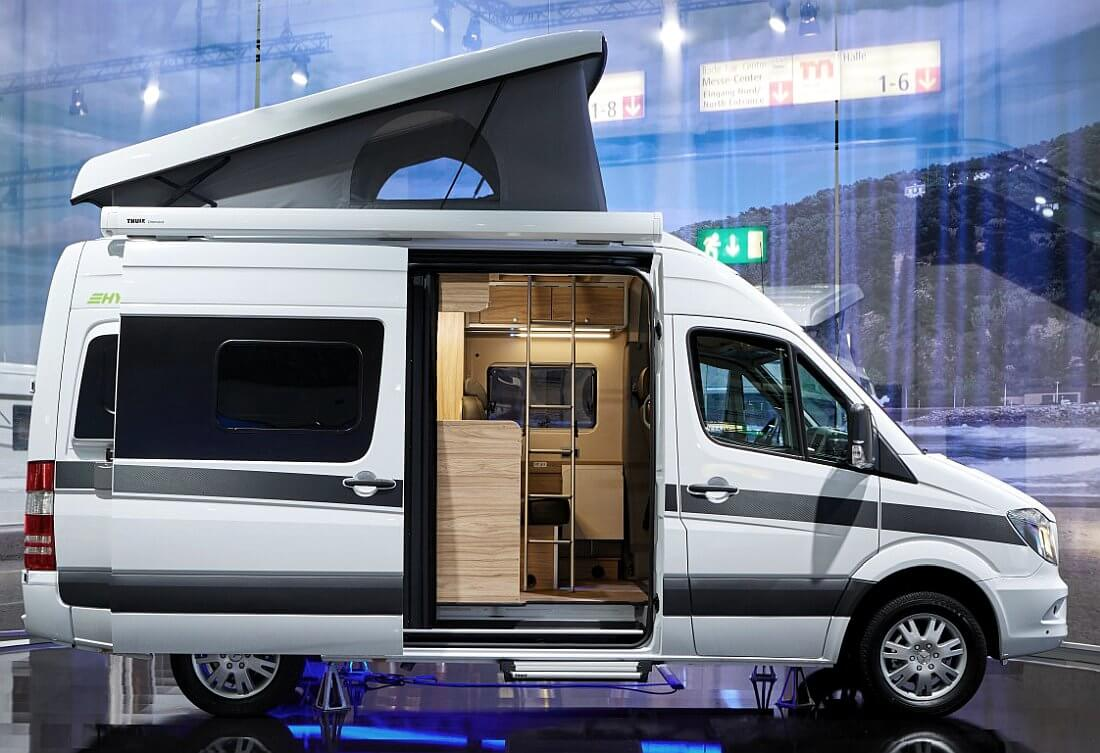 2018 Hymercar Grand Canyon S Pop Top Mercedes Benz Sprinter