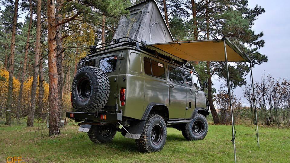 UAZ-452 2206 Bukhanka Offroad Camper