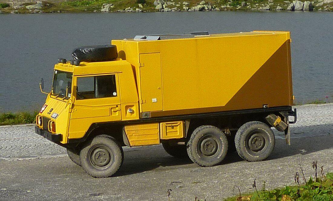 1982 Steyr-Puch Pinzgauer Allrad Wohnmobil