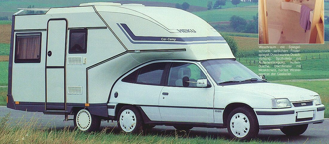1992 Heku Car-Camp Typ-1 Opel Astra