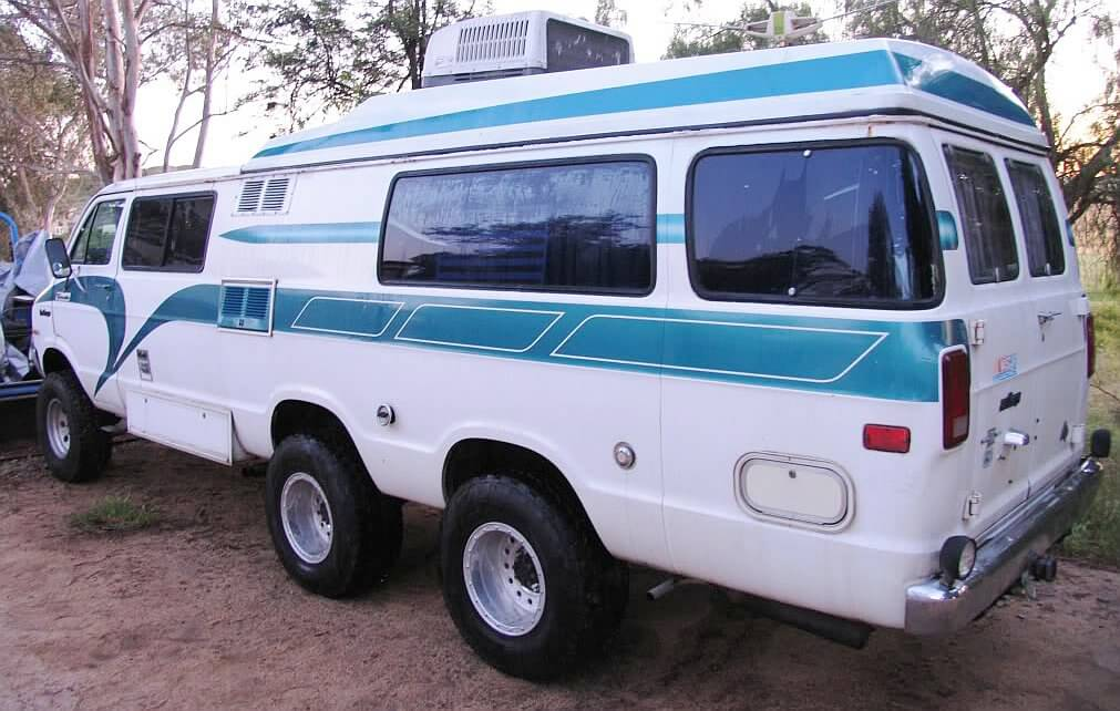 1977 6-Wheel Dodge Van