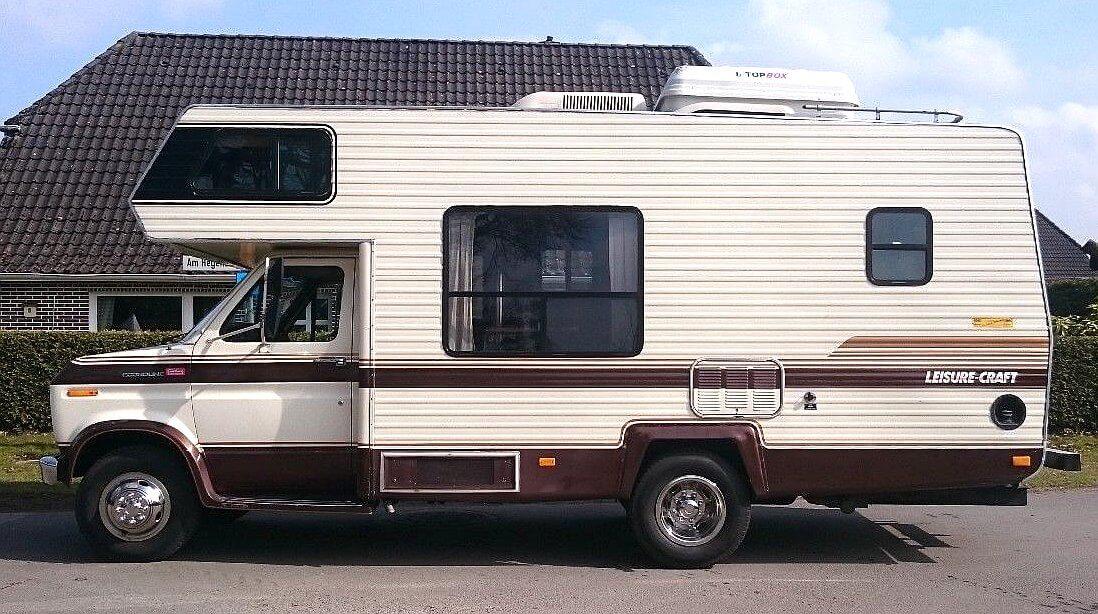 1988 Travelcraft Leisure Craft Ford Econoline