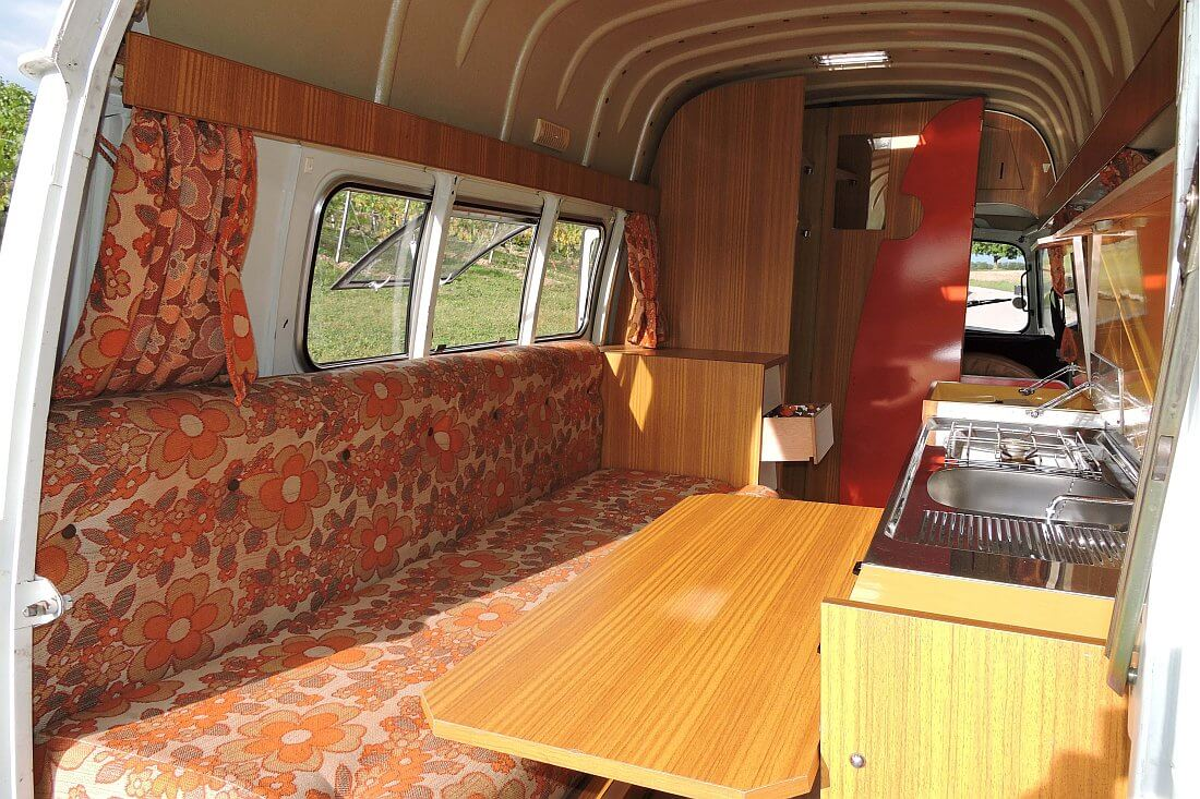 1975 Renault Estafette Camping Car