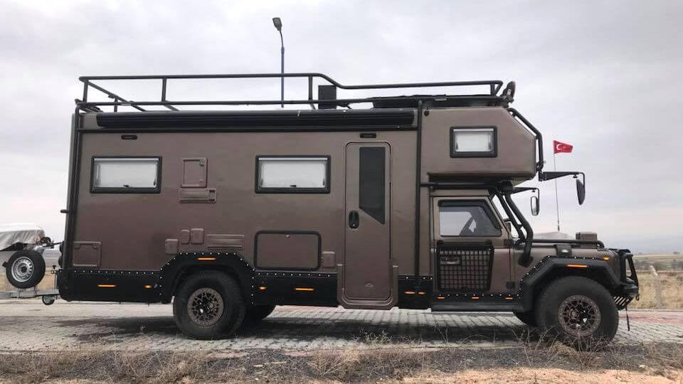 Land Rover Defender Camper on 1997 Dodge Truck