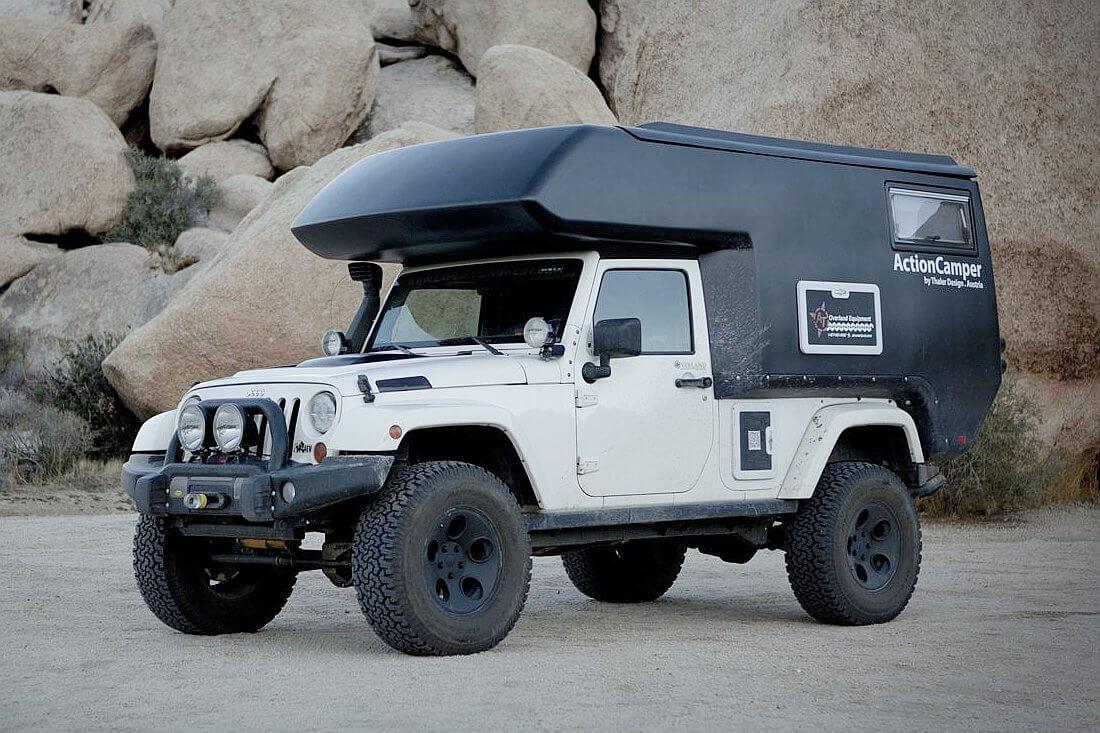 2012 Thaler Design ActionCamper Jeep Wrangler
