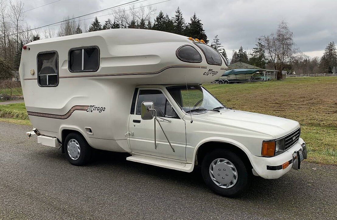 1981 Toyota Mirage Mini Motorhome