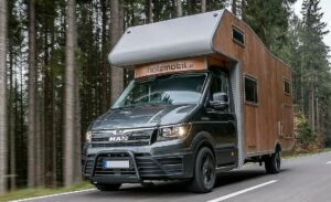 2020 MAN TGE 4 Holzmobil