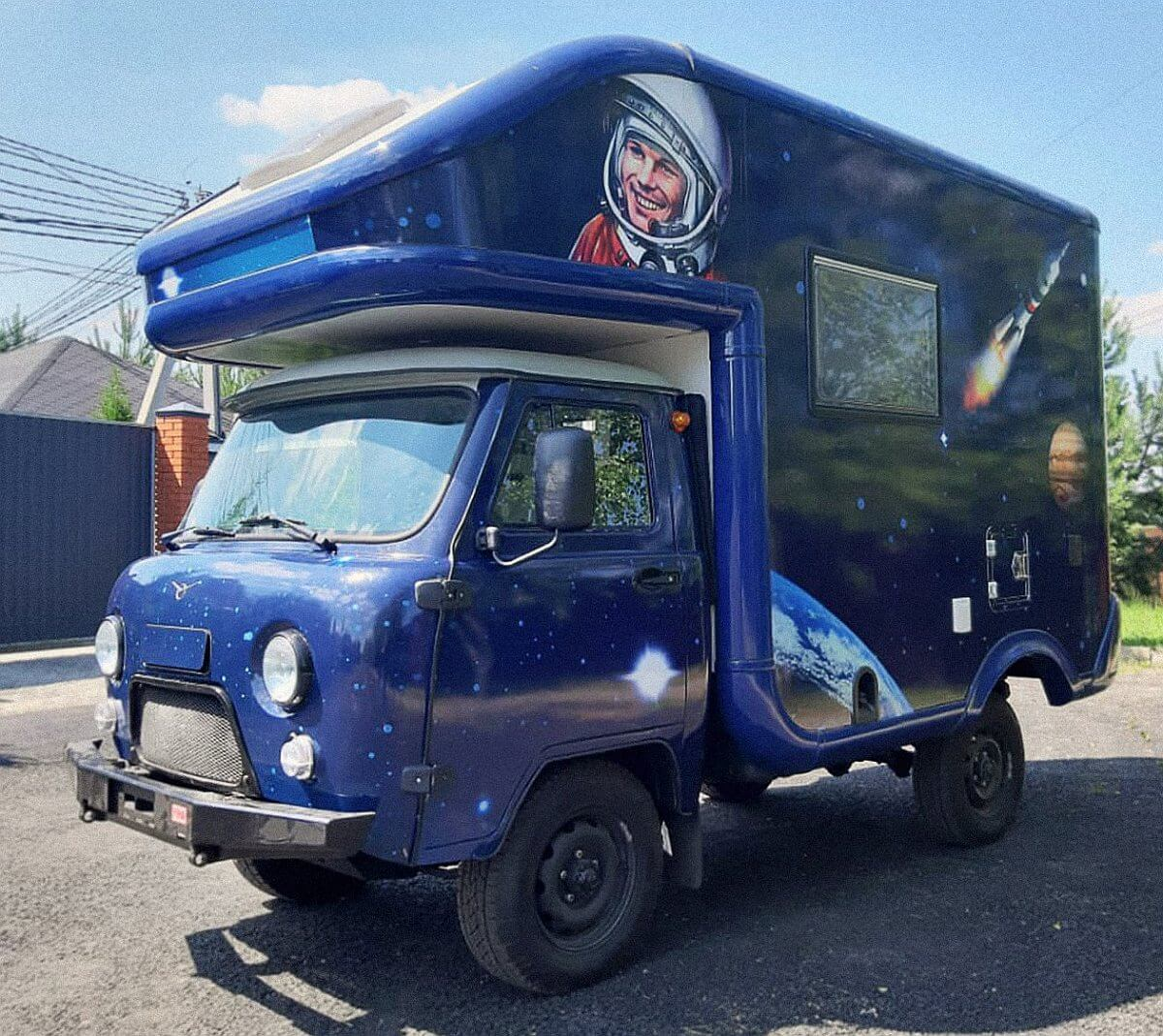 "2020 UAZ Buchanka Wohnmobil ""MIR"""
