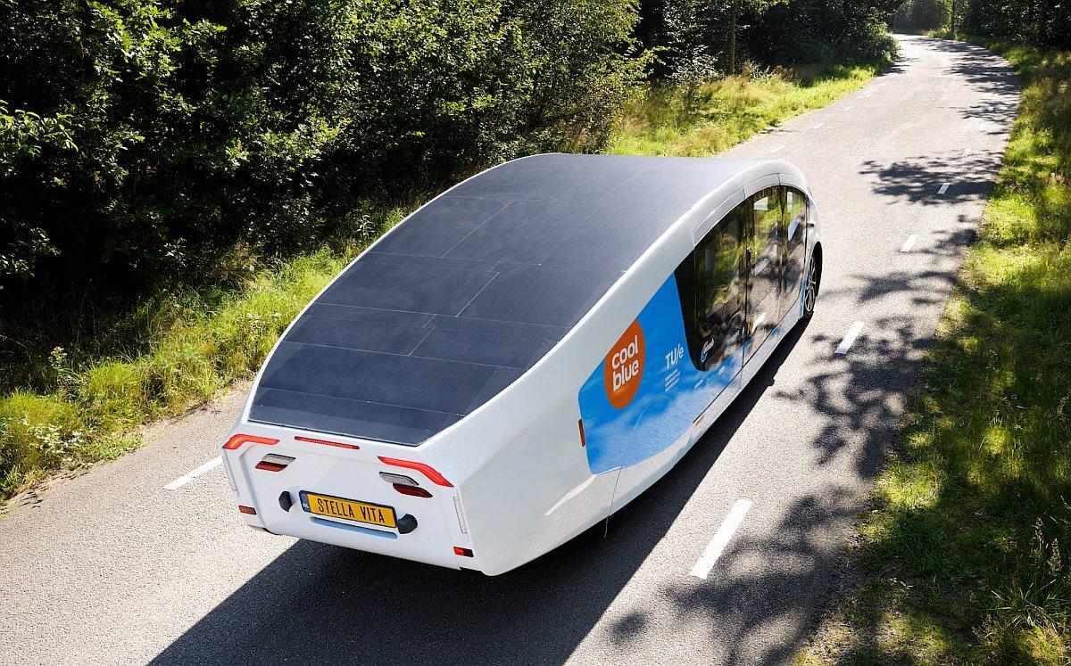 2021 Solar Team Eindhoven Stella Vita Self-sustaining House On Wheels
